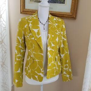 MICHAEL Michael Kors Jackets & Coats - Michael Kors Silk Blend Floral Print Jacket